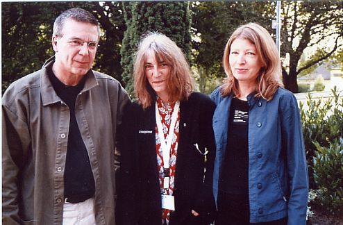 Konrad Heidkamp, Patti Smith & Brigitte Jakobeit (Bochum 2005)