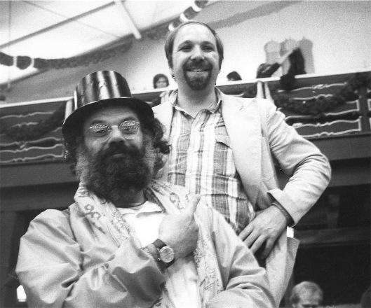 Michael Köhler & Allen Ginsberg Oktoberfest 1976